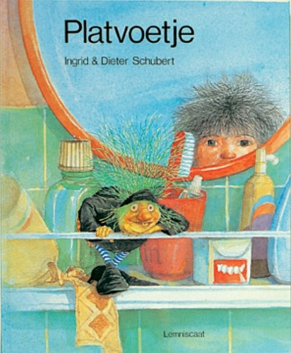 Kinderboeken prentenboek Platvoetje