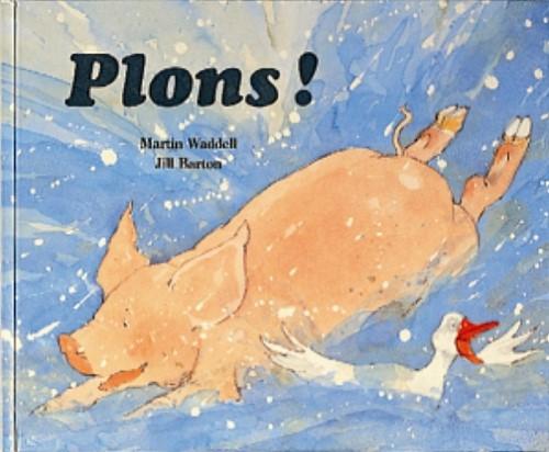 Lemniscaat Prentenboek - Plons! 4+