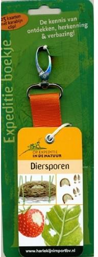 Moses Natuur - Expeditieboekje + clip: Diersporen (6 st)