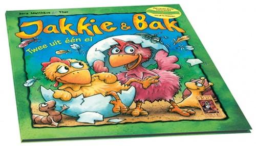 999 Games Jakkie & Bak Leesboekje - Boek - 1+