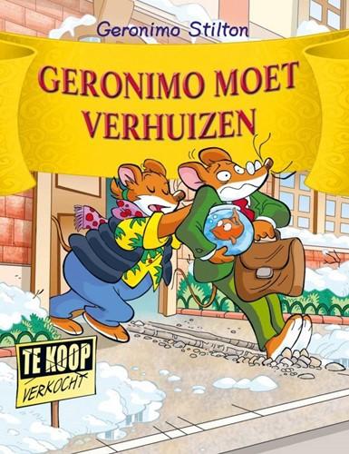 Kinderboeken  Geronimo Stilton moet verhuizen