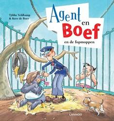 Kinderboeken  prentenboek Agent en boef de fopmoppen