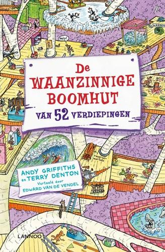 Kinderboeken leesboek De waanzinnige boomhut 4 - 52 verdiepingen