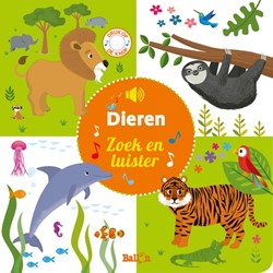 Ballon kids Doeboek zoek en luister dieren