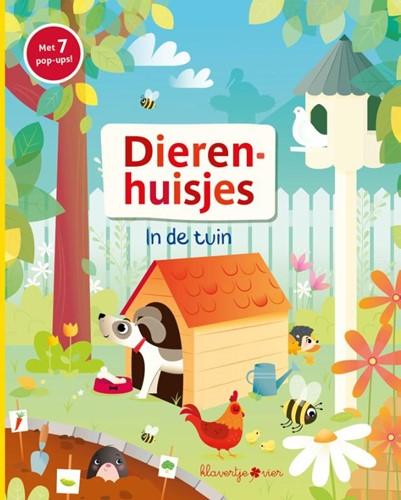 Klavertje vier voorleesboek dierenhuisjes in de tuin pop-up
