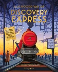 Klavertje Vier educatieboek aan boord van de Discovery Express flapjesboek