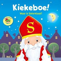 Kinderboek voorleesboek Kiekeboe! waar is sinterklaas? Flapjesboek