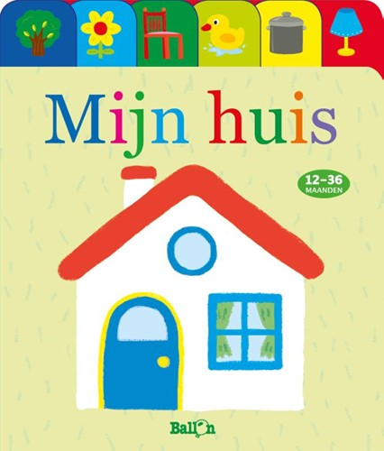 Ballo Media babyboek eendjes-reeks mijn huis