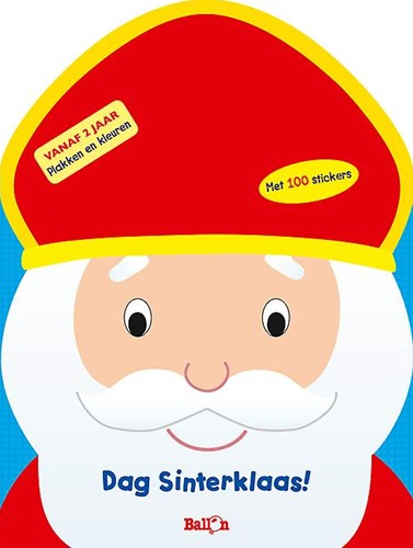 Planet Happy Doeboek Dag sinterklaas