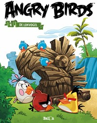 Stripboeken  Angry Birds De lokvogel