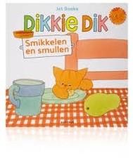 Kinderboeken  voorleesboek Dikkie Dik smikkelen smullen