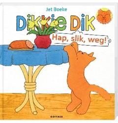 Kinderboeken  voorleesboek Dikkie Dik hap, slik, weg