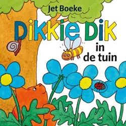 Kinderboeken  voorleesboek Dikkie Dik in de tuin