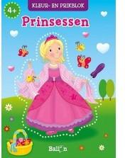 Planet Happy  knutselspullen prikblok prinsessen