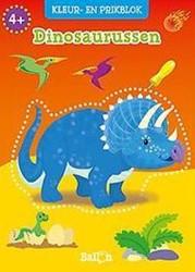 Planet Happy  knutselspullen prikblok dinosaurussen