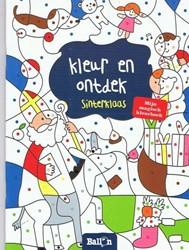 Planet Happy kleurboek kleur en ontdek Sinterklaas