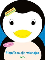Kinderboeken doeboek plak en kleur pinguïns en zijn vriendjes