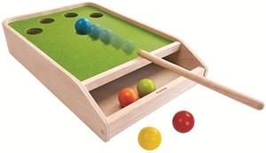 Image of Plan Toys houten biljart spel