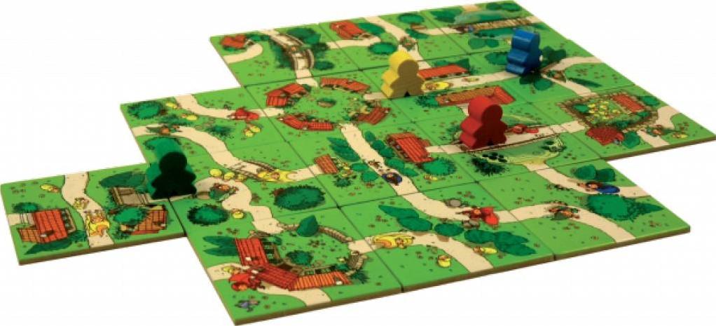 999 games carcassonne junior bij planet happy. Black Bedroom Furniture Sets. Home Design Ideas