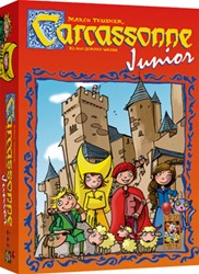 999 Games  kinderspel Carcassonne Junior