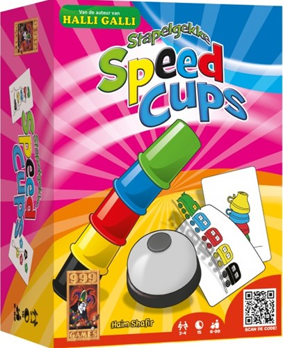 999 Games  actiespel Speed cups-1