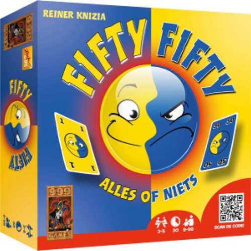999 Games spel Fifty Fifty