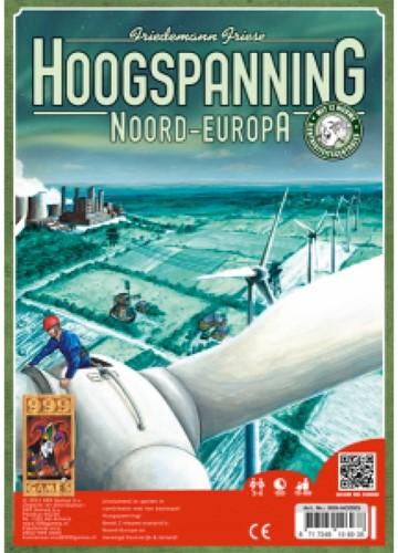 999 Games spel Hoogspanning: Noord-Europa