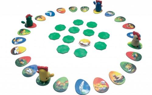 999 Games spel Jakkiebak! Kippenkak!-2