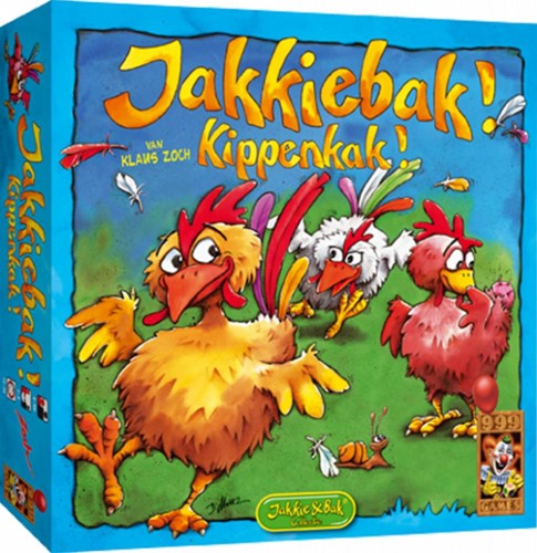 999 Games  kinderspel Jakkiebak! Kippenkak!-1