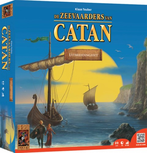 999 Games Catan: De Zeevaarders