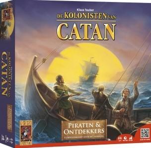 999 Games spel Catan: Piraten en Ontdekkers