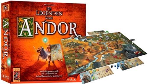 999 Games spel De Legenden van Andor