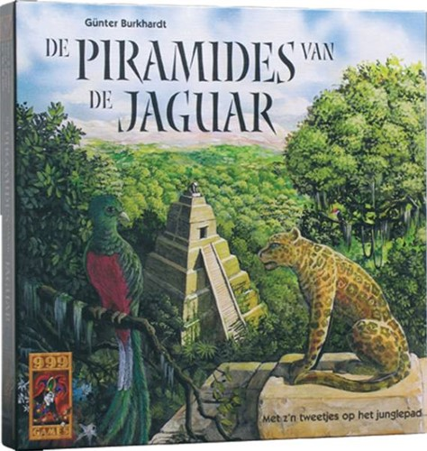 999 Games spel De Piramides van de Jaguar