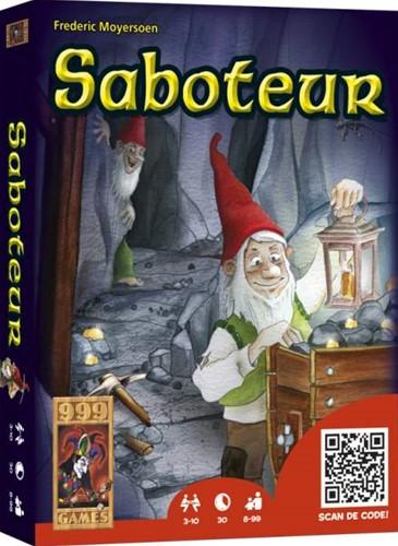 999 Games spel Saboteur