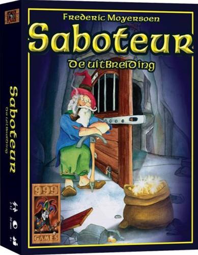 999 Games spel Saboteur: De Uitbreiding