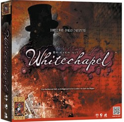 999 Games  bordspel Brieven uit Whitechapel