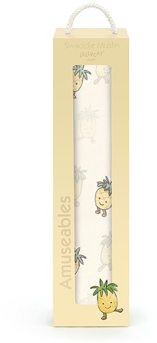 Jellycat Amuseable Pineapple Swaddle - 120cm