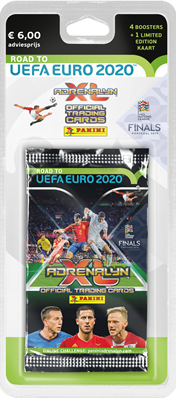 Asmodee Adrenalyn XL Road to Euro 2020 Blister Pack - NL