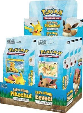Asmodee POK TCG Let's Play! Pikachu / Eevee TD - EN