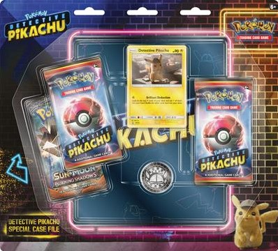Asmodee POK TCG Detective Pikachu 3BB 4-Pocket Binder - EN