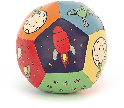 Jellycat Zoom To The Moon Boing Ball - 10cm