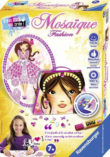 Ravensburger  knutselspullen Mosaic mini Fashion