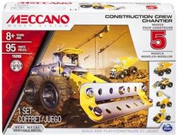 Meccano  constructie speelgoed Construction crew