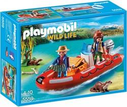 Playmobil  Wild life Rubberboot met stropers 5559