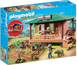 Playmobil  Wild Life Rangerpost voor gewonde dieren 6936