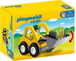Playmobil  1.2.3. Graafmachine met werkman 6775