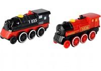 Planet Happy  houten trein Locomotief met 5 functies