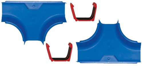 AquaPlay waterbaan Twee T splitsingen