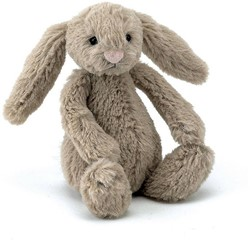 Jellycat  Bashful Bunny Beige Baby - 13 cm