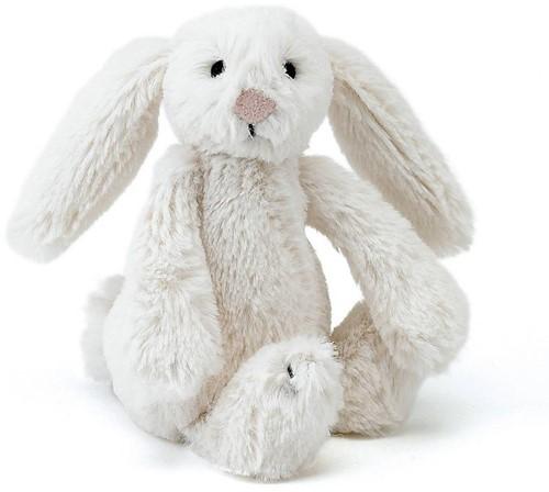 Jellycat knuffel Bashful Cream Bunny Baby 13cm